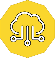 Cloud Services icon with Smartwire's yellow background